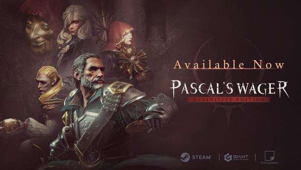 Pascal's Wager: Definitive Edition is now out on Steam!