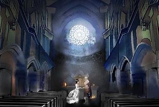 #月下婚礼##伊瑟流姆的珍妮##蔷薇骑士帕特里克#