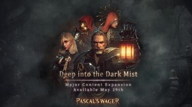 「Deep into the Dark Mist」will release on the 29th of May. As a special sale via the Apple App Store, the Base Game will be reduced to 3.99USD for a limited time!