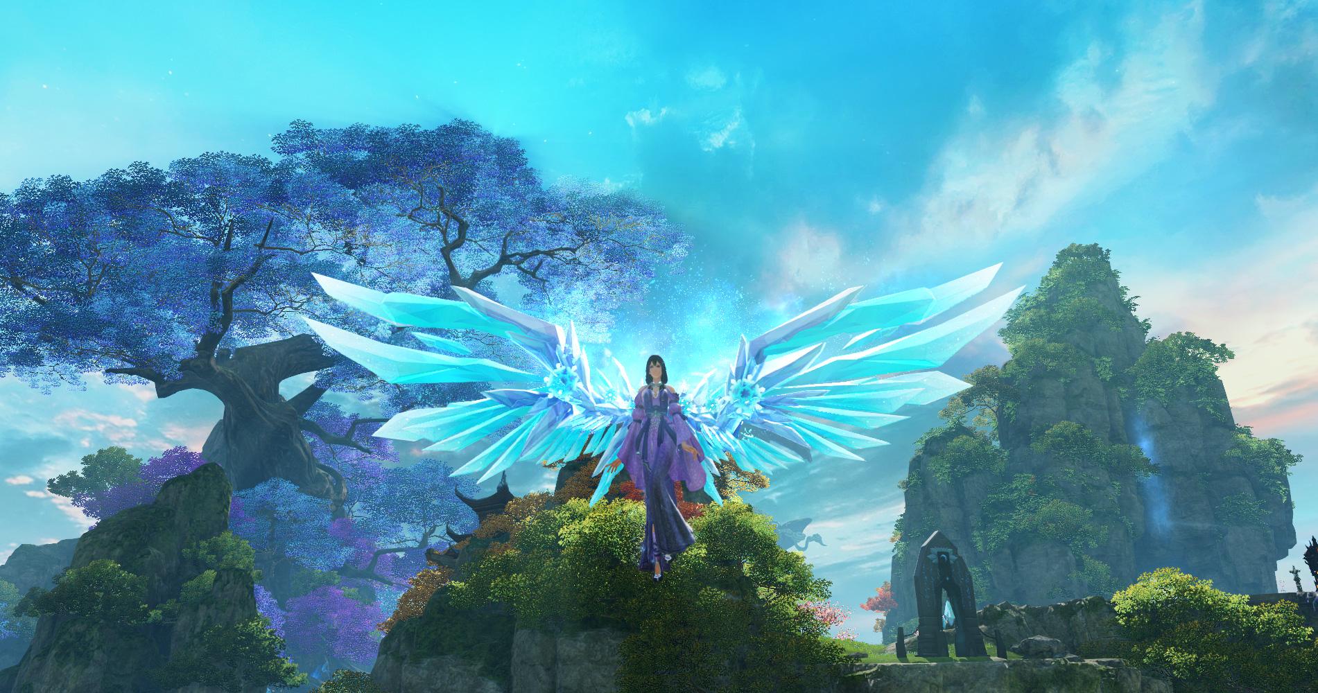 羽翼翅膀_游戏指南_全境飞行 仙侠巨作|《仙侠世界2》