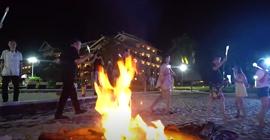 缘定征途:沙滩晚宴唱响征途